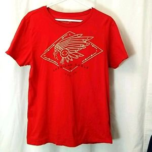 American Eagle Mens Graphic T-shirt Large Mens